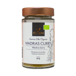 Madras curry, luomu, 90 g