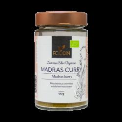 Madras curry, organic, 90 g