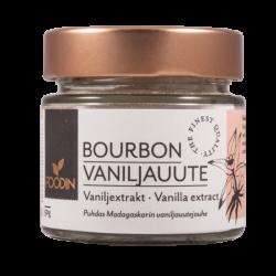 Bourbon vanilla extract...