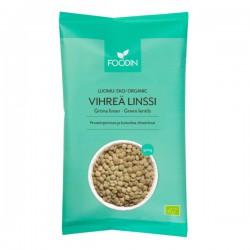 Green lentils, organic 500 g