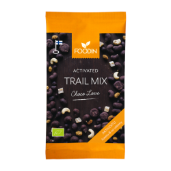 Chocolove, trail mix...