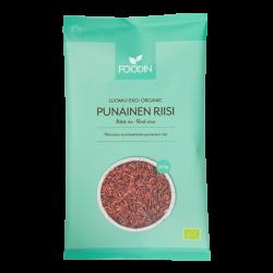 Röd ris, organisk, rå, 500 g