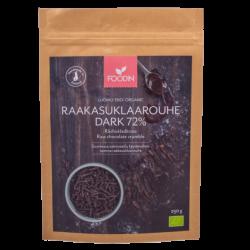 Rå choklad smula Mörk 72%,...