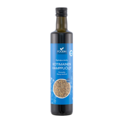 Domestic hemp oil, 500ml