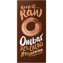 Choklad, 72% 70 g, Ombar