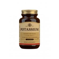 Potassium, Solgar 100 tabl