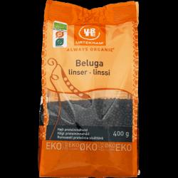 Beluga lentils, Organic 400g