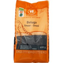 Belugalinser, Ekologiskt 400g